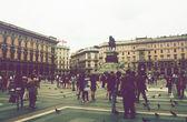 Milano architetture — Stock Photo