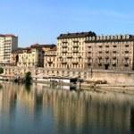 Turin view of Po — Stock Photo #9889585