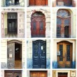 Doors From Around The World — Stock Photo