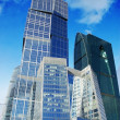 Business centre in moscow city, russia — Stock Photo