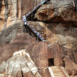 Tourists in Sigiriya - Stock Photo