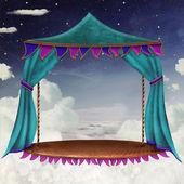 Sky stage — Stock Photo