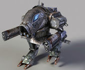 Robô 3d — Foto Stock