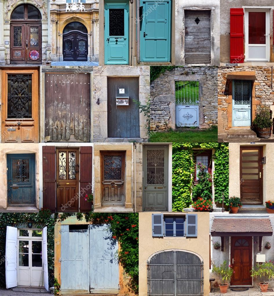 Compilation of old doors (French) — Stock Photo #12665186