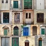 Постер, плакат: Collage with the doors from Montenegro