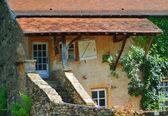 Farmhouse in cluny, france ,Bourgogne — Stock Photo