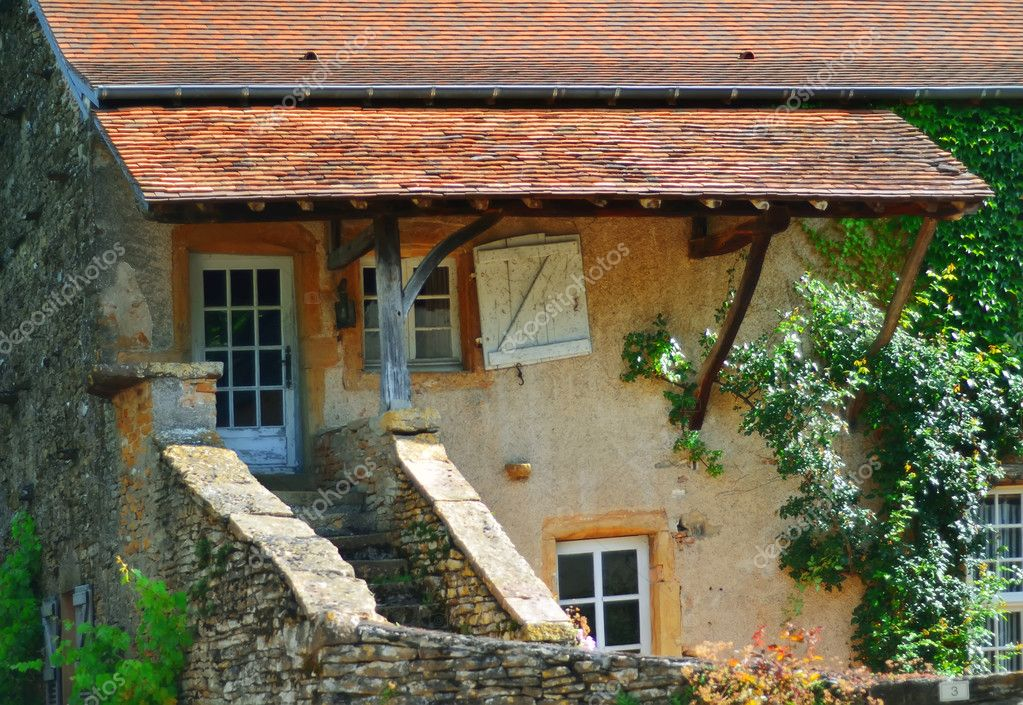 Farmhouse in cluny, france ,Bourgogne  Stock Photo #15933285