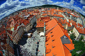 Praha - Panoramic View — Stock Photo