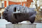 Rzeźba przez igor mitoraj — Zdjęcie stockowe