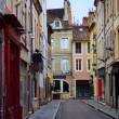 French old town street — 图库照片