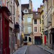 Franse oude stad straat — Stockfoto