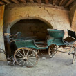 Old aristocrat carriage - Stock Photo