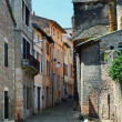 图库照片: French old town street