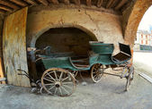 Old aristocrat carriage — Stock Photo