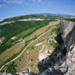 Hilly district from the height of bird's flight. Crimea. Kachy-K — Stock Photo