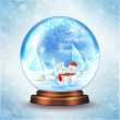 Snow Globe — Stock Photo #33856881