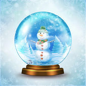 Snow Globe — Stock Photo