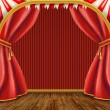 Stock Photo: Theater stage