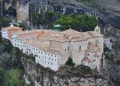 Parador (former San Pablo convent) of Cuenca, Castilla La Mancha — Stock Photo