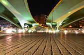 Under the bridge , Valencia, Spain — Stock Photo
