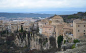 Hanging houses of Cuenca panoramic. Spain.  — Stock Photo