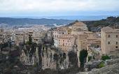 Hanging houses of Cuenca panoramic. Spain. — Stock Photo