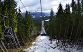 Bukovel mountain — ストック写真