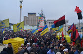 Ukrainian revolution, Euromaidan. — Stock Photo