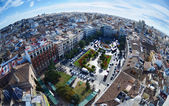 Panoramic view of Valencia, Spain — Foto Stock