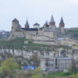 View on old castle in Kamianets - Podilskyi ,Ukraine — Stock Photo