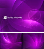 Purple Abstract Background — Stock Vector