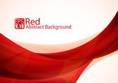 Red Abstract Background — Stock Vector