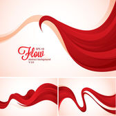 Flow abstract background — Stock Vector