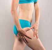 Body care woman — Stock Photo