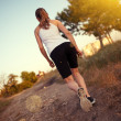 Stock Photo: Jogger woman