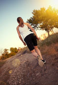 Jogger woman — Stockfoto