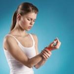 Wrist pain — Stock Photo #43424403