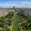 Gardens in paris — Stock Photo