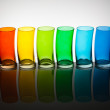 Rainbow Glasses — Stock Photo