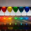 Liquid colors - Stock Photo