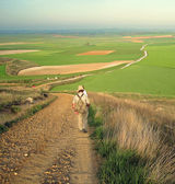 Camino de santiago — Stock Photo