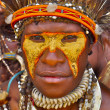 Stock Photo: Leader of Paputribe of Yafi