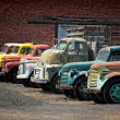 Stock Photo: Old cars