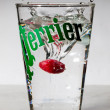 Stock Photo: Perrier Framboise