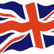 The Union Jack , UK — Stock Photo #14732055