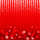 Shiny red Christmas and New Year background. EPS10. — Stock Vector