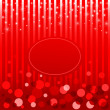 Shiny red Christmas and New Year background with place for text. — Stock Vector