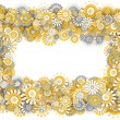 Royalty-Free Stock Photo: Frame from camomile flowers