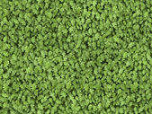 Seamless green leaves tiled texture pattern — Stock Photo