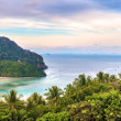 Tropic sea view — Stock Photo